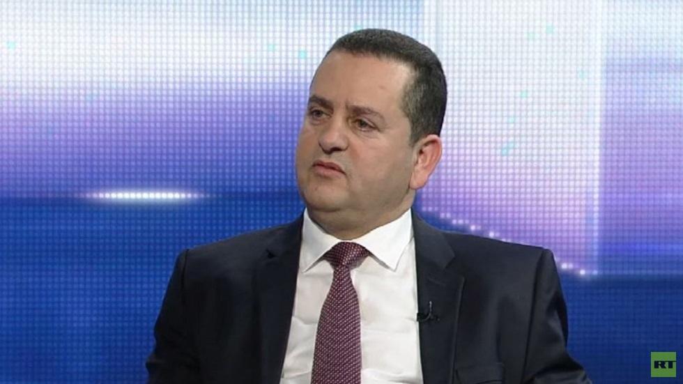 وزير الخارجية الليبي في الحكومة المؤقتة عبد الهادي الحويج
