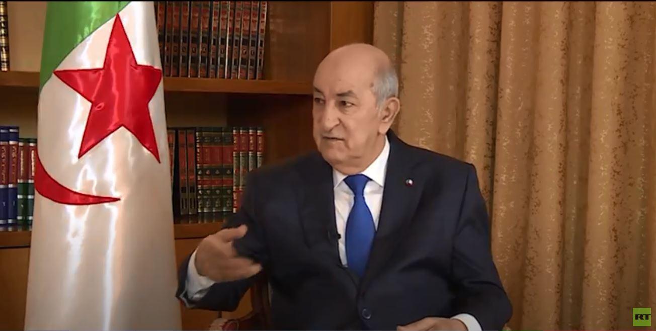 الرئيس الجزائري لـ RT: هناك طلب شعبي لتحرك الدبلوماسية لرأب الصدع بين الفرقاء والأشقاء