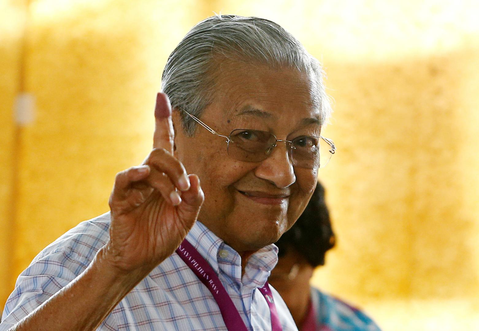 رئيس وزراء ماليزيا مهاتير محمد
