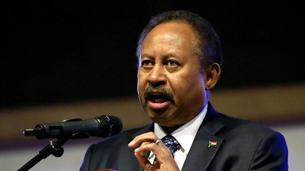 رئيس الوزراء السوداني عبدالله حمدوك