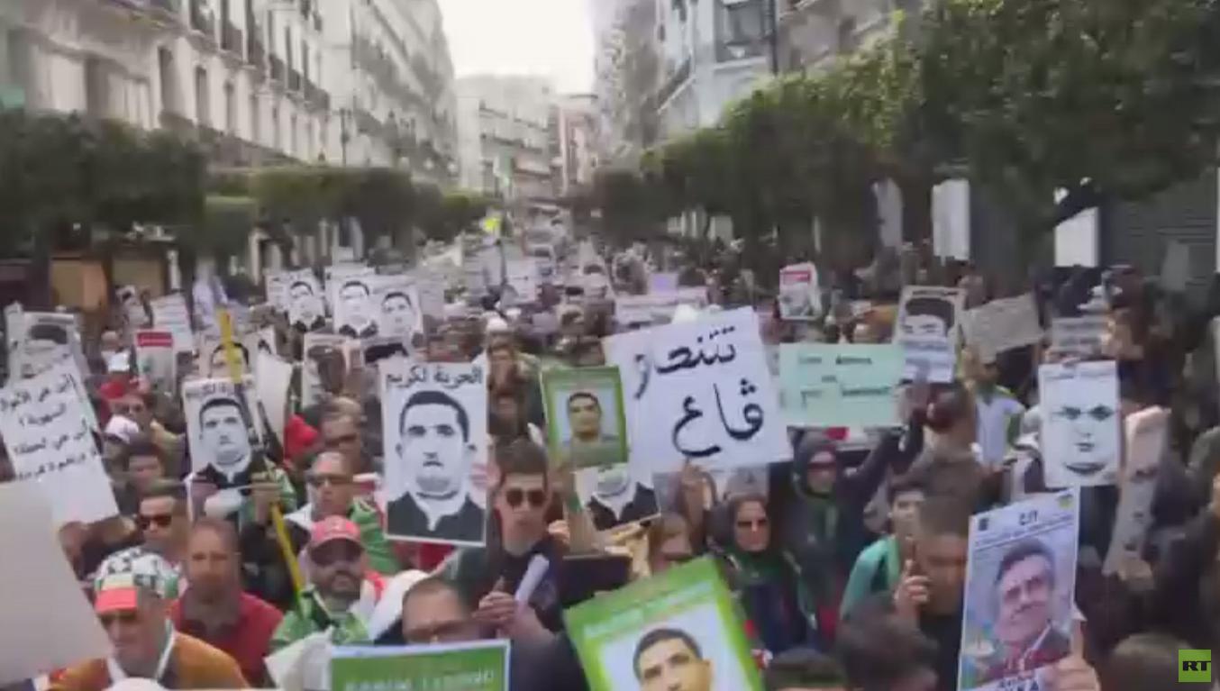 تظاهرات بالجزائر في سنوية الحراك