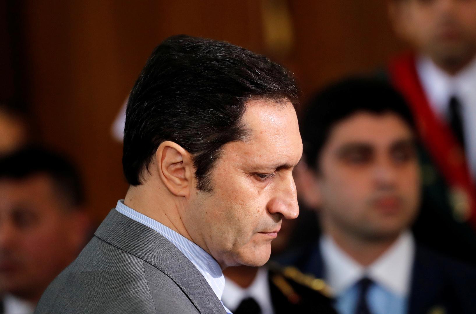 علاء مبارك نجل الرئيس المصري السابق حسني مبارك