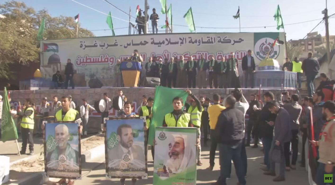 حماس: نرفض الحوار مع الإدارة الأمريكية