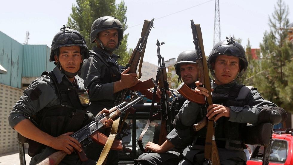 قوات الأمن الأفغانية (صورة من الأرشيف)