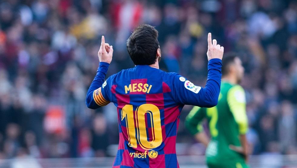ميسي يحطم رقما قياسيا جديدا بقميص برشلونة