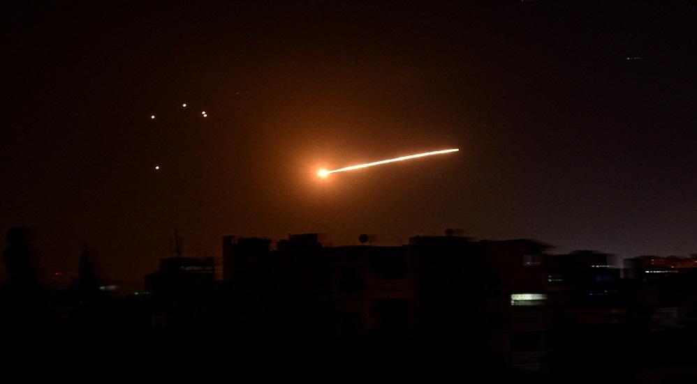 غارة على دمشق
