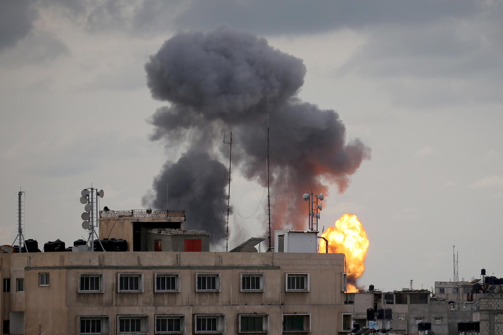 مراسلتنا: غارات إسرائيلية على أهداف تابعة لحركة