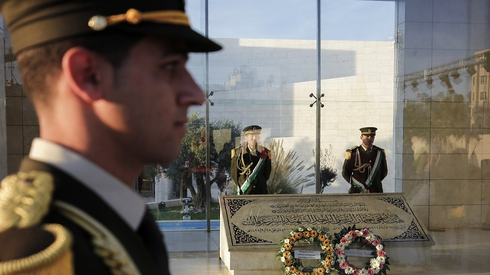 ضريح الزعيم الفلسطيني ياسر عرفات - أرشيف
