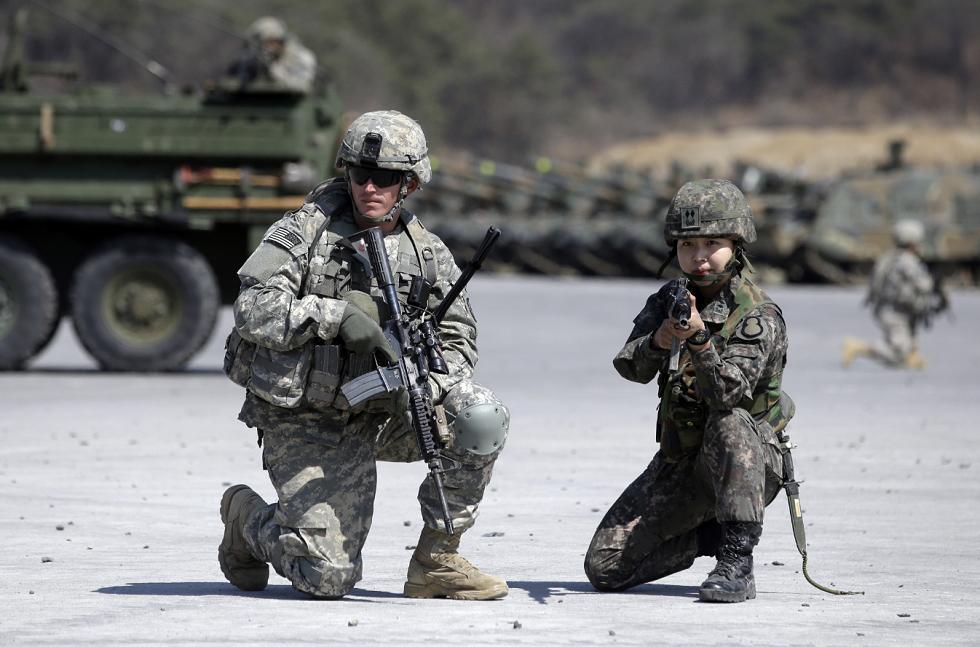 القوات الأمريكية في كوريا الجنوبية تؤكد أول إصابة بفيروس