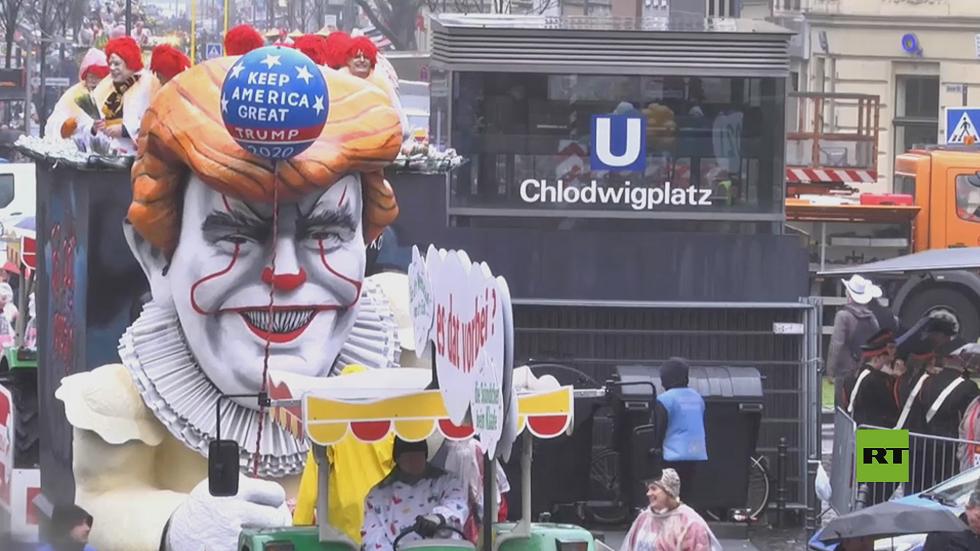 مدينة  كولونيا الألمانية تحتفل بكرنفالها الشهير