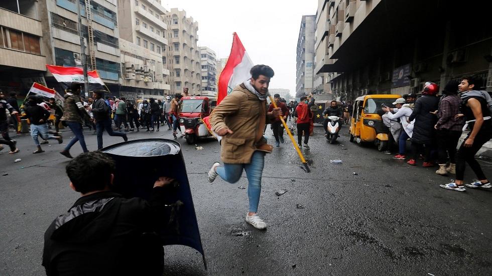 العراق.. مقتل اثنين من المحتجين في صدامات مع قوات الأمن