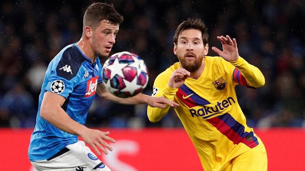 التعادل الإيجابي يحسم قمة برشلونة ونابولي في دوري الأبطال (فيديو)
