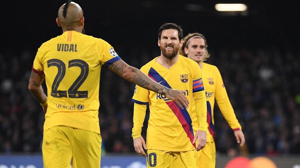 برشلونة يعاني من لعنة إيطاليا مرة أخرى في دوري الأبطال