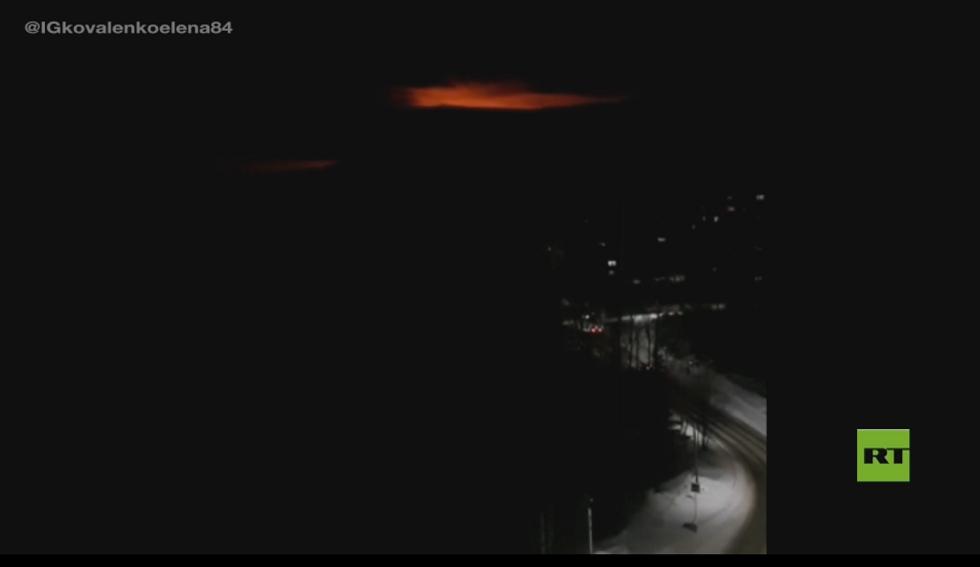 انفجار خط أنابيب غاز في روسيا
