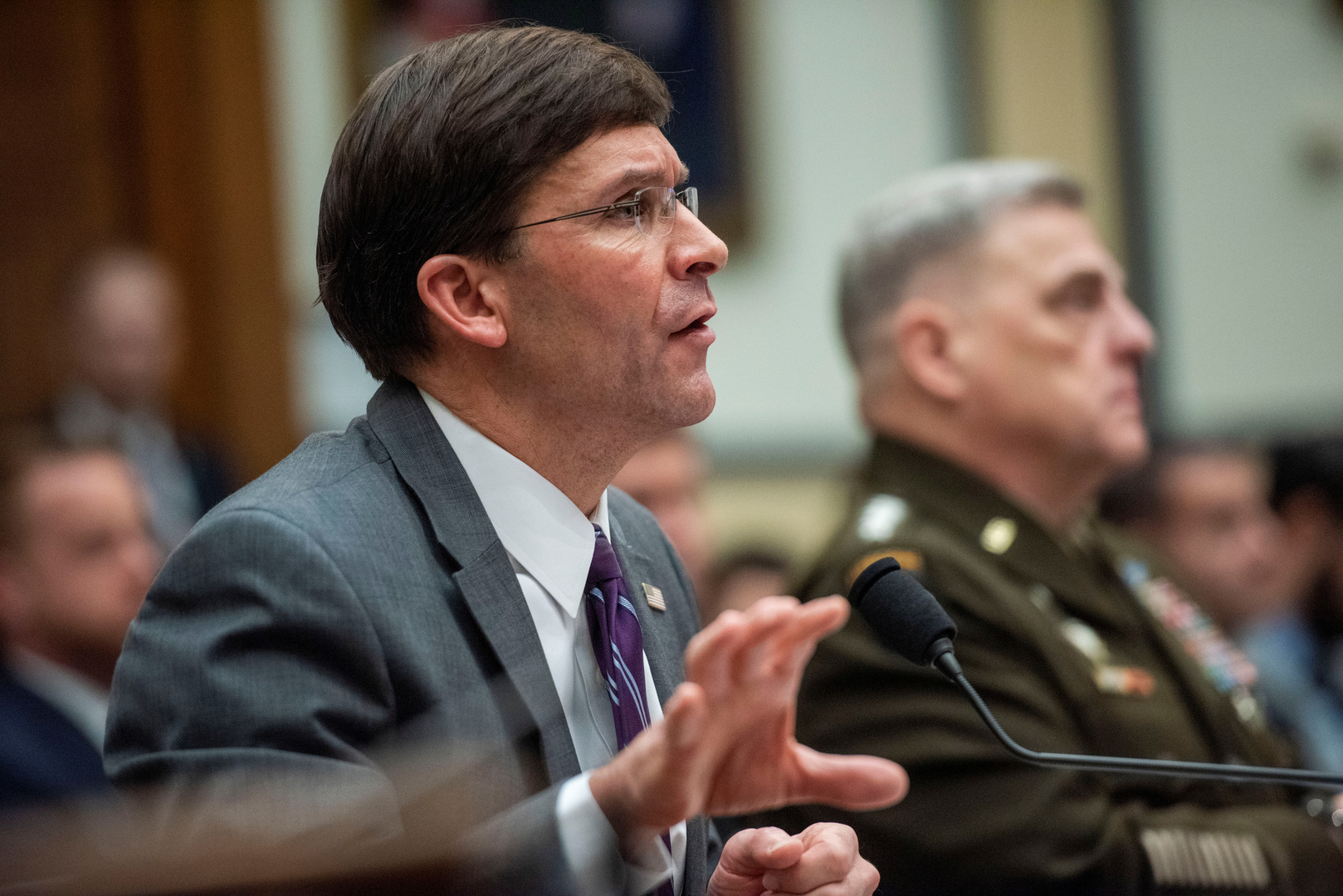 وزير الدفاع الأمريكي: لا خطط لنا للعودة إلى الحدود السورية التركية
