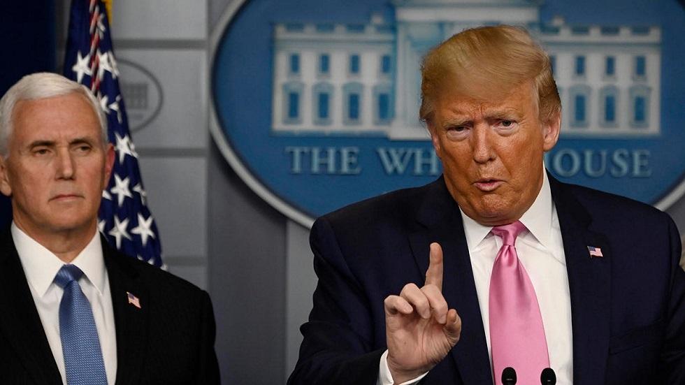 ترامب يعين بنس مسؤولا عن مكافحة