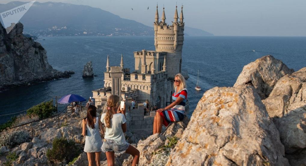 منظر من شبه جزيرة القرم