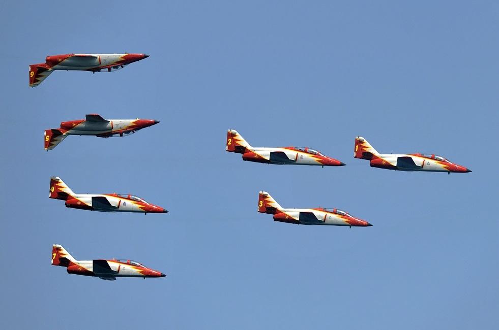 طائرات حربية إسبانية من طراز  C-101