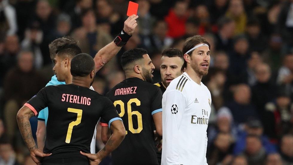 بالفيديو.. قائد ريال مدريد يواصل تحقيق الأرقام القياسية في البطاقات الحمراء