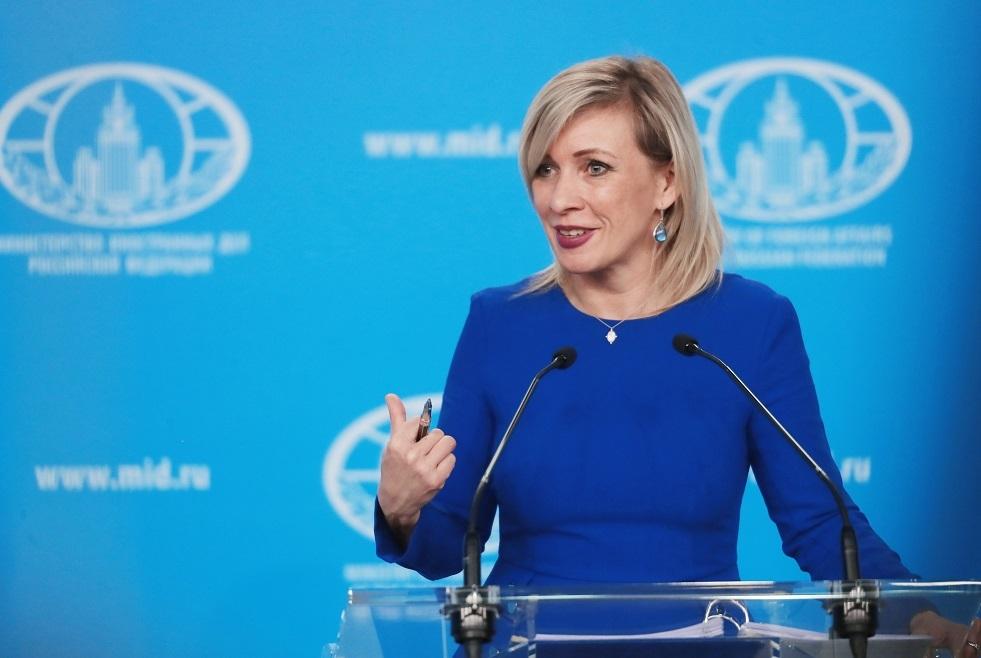 زاخاروفا تنتقد سلوك الصحفيين الجورجيين في جنيف