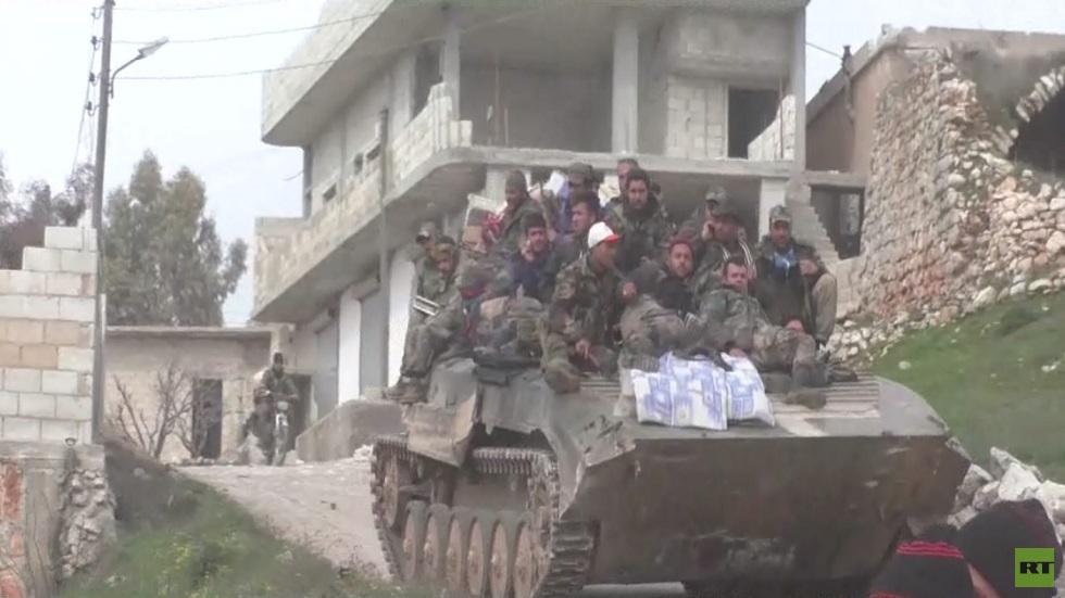 تطورات الأوضاع الميدانية في ريف إدلب