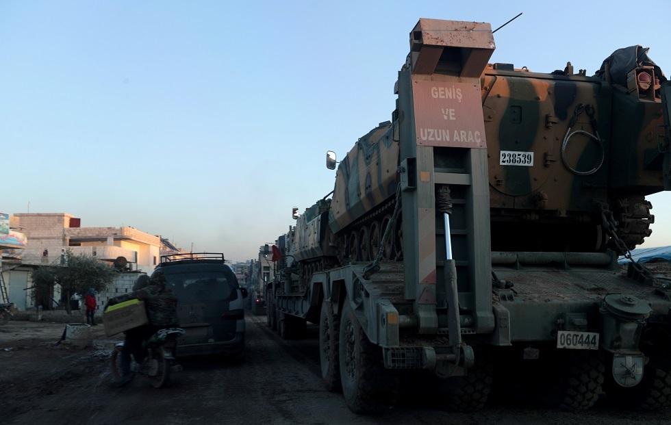 قوات تركية في إدلب -أرشيف-
