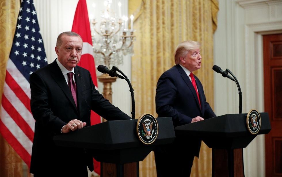 أنقرة: أردوغان أكد لترامب عزمه على تطهير منطقة إدلب من القوات السورية