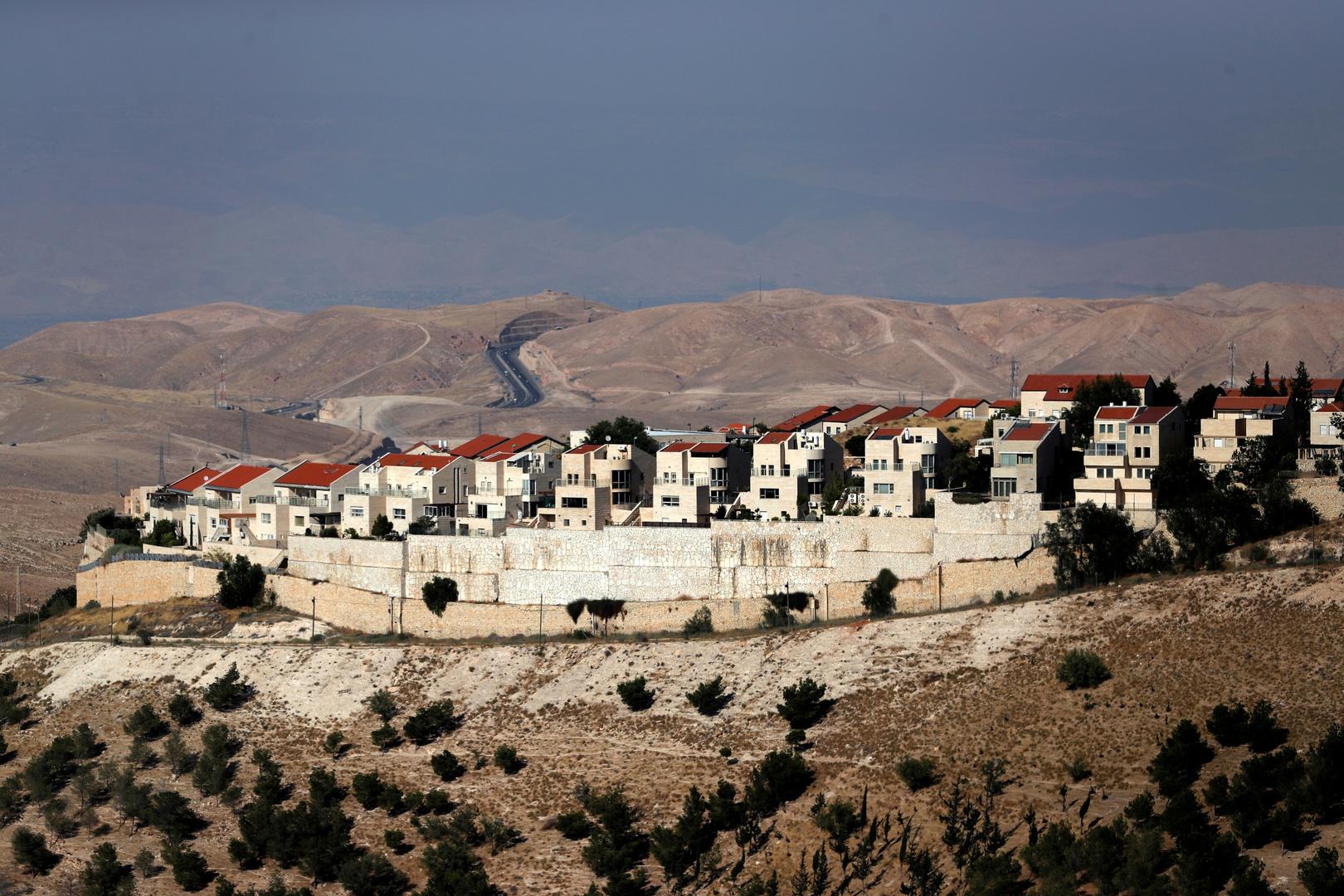 مستوطنة معاليه أدوميم في الضفة الغربية المحتلة