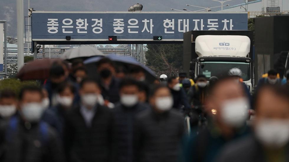 كورونا.. اكتشاف 594 حالة إصابة جديدة في كوريا الجنوبية