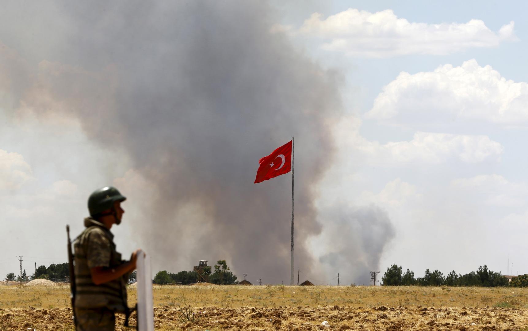 وسط قصف متواصل.. تركيا تنشر فيديو استهدافها لما وصفته بـ