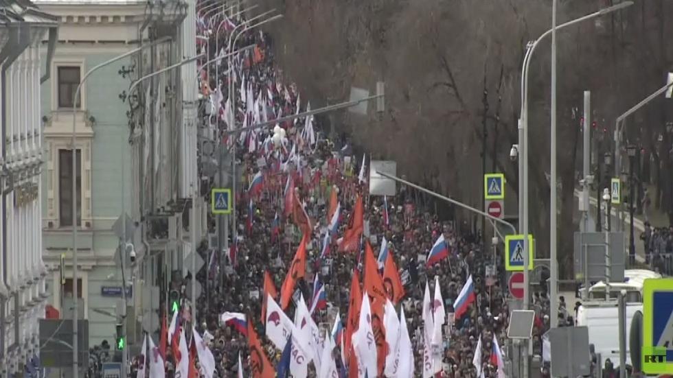 مسيرة في الذكرى الـ 5 لمقتل بوريس نيمتسوف