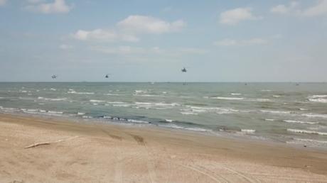 شاهد.. عملية إنزال بحري على شواطئ داغستان