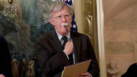 """بولتون يأمل في ألا """"يقمع"""" البيت الأبيض نشر كتابه"""
