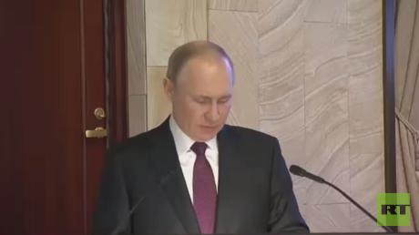 بوتين: مكافحة الإرهاب من أولويات هيئة الأمن