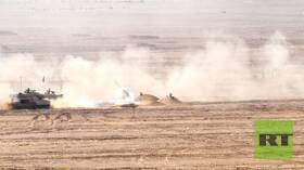الجيش الميداني الثاني المصري ينفذ تدريبات عسكرية