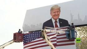 الهند تستعد للترحيب بالرئيس الأمريكي دونالد ترامب
