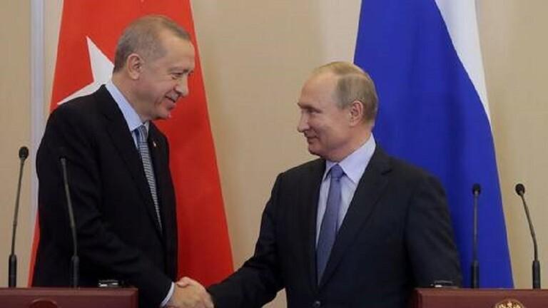أردوغان يقول إنه يأمل في التوصل إلى وقف لإطلاق النار في إدلب بعد محادثات مع بوتين في موسكو الخميس