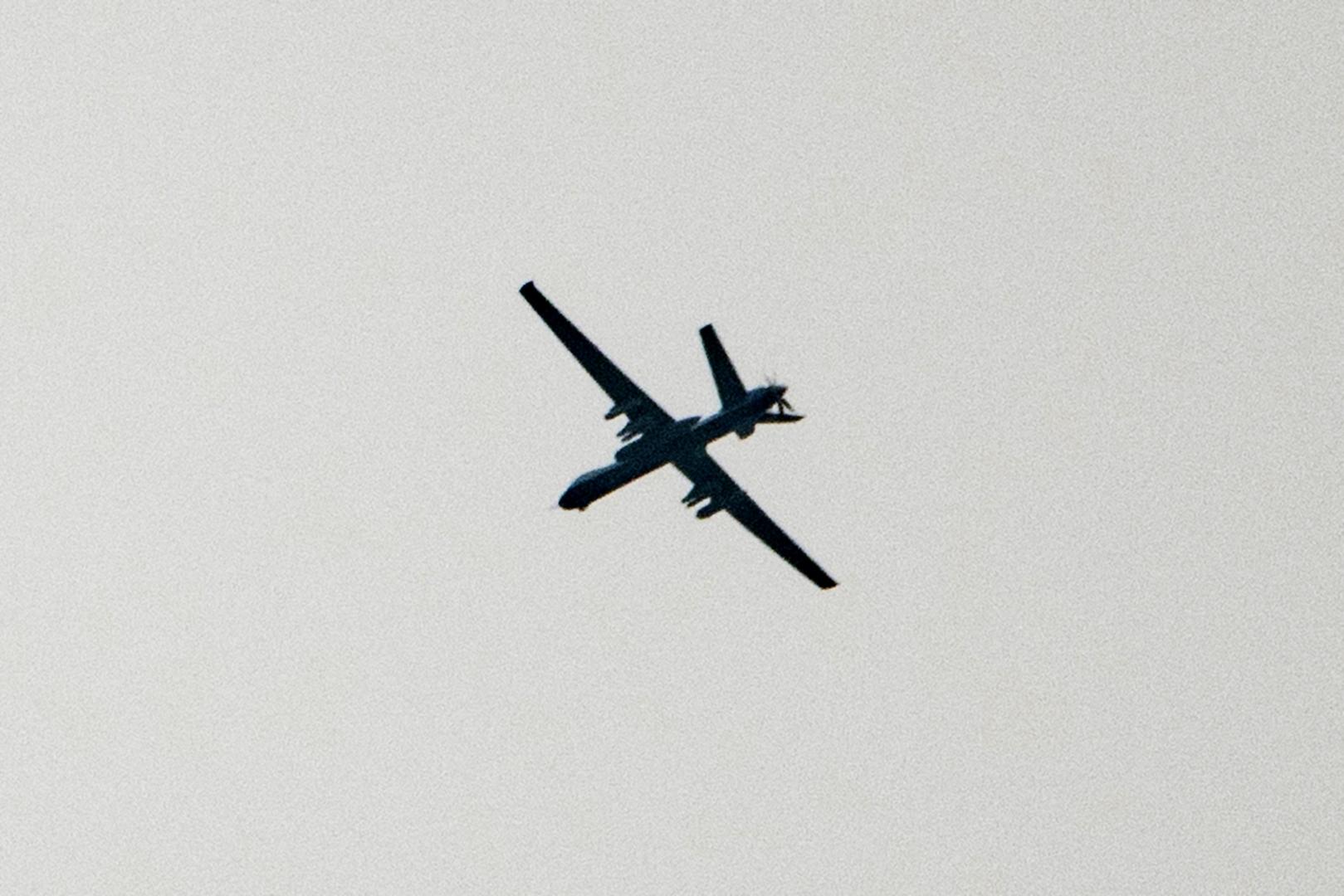 طائرة مسيرة في أجواء سوريا (أرشيف)