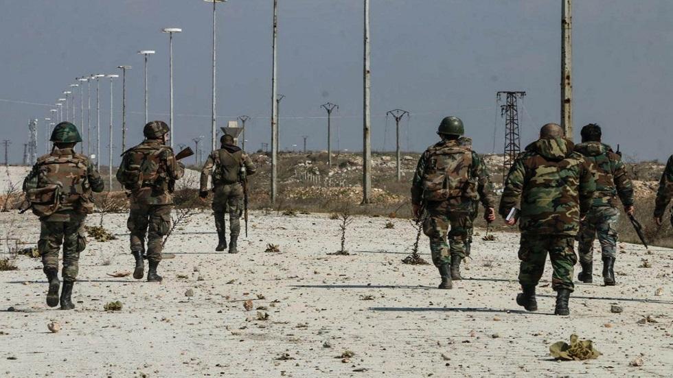الجيش السوري يعثر على شبكة أنفاق شمالي معرة النعمان بريف إدلب