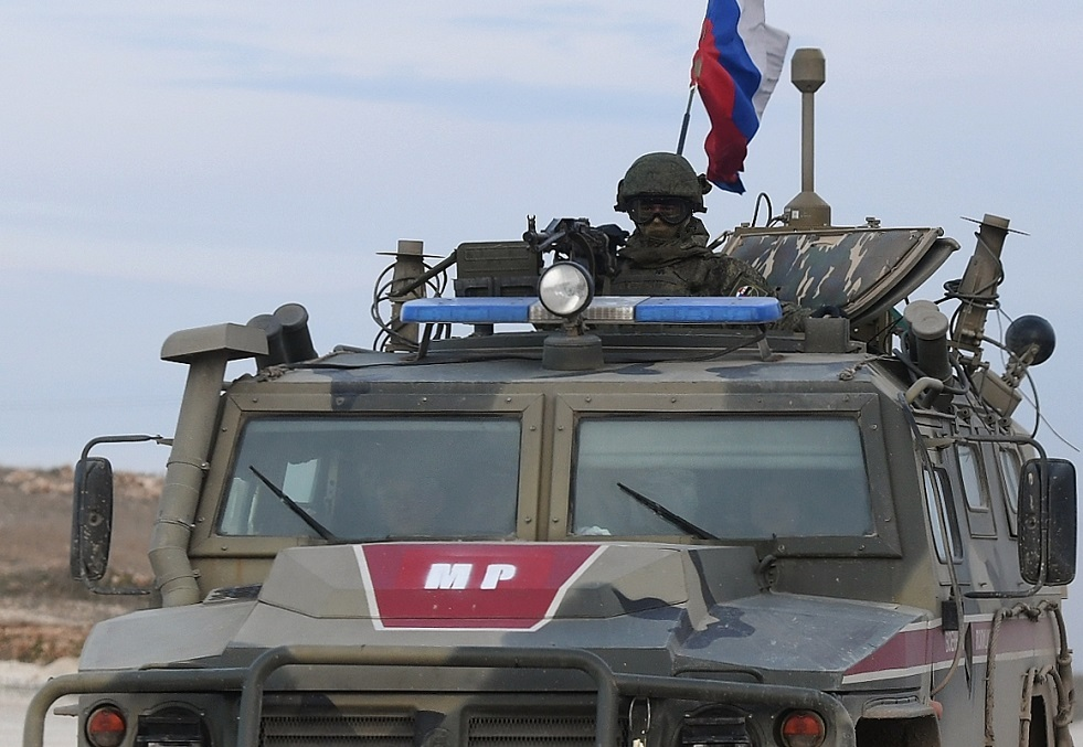 دخول الشرطة العسكرية الروسية بلدة سراقب في إدلب