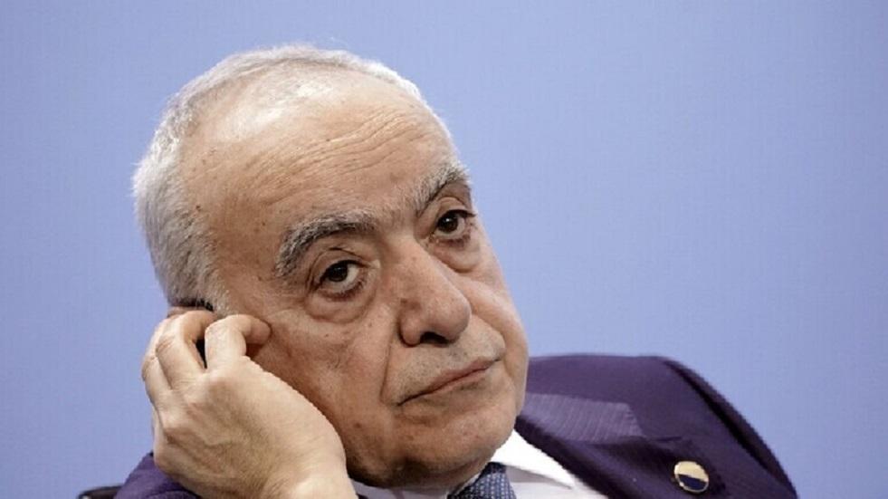 غسان سلامة يتنحّى عن مهامه