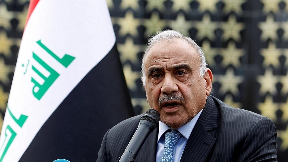 العراق.. عبد المهدي يتخلى عن معظم مهامه الرسمية