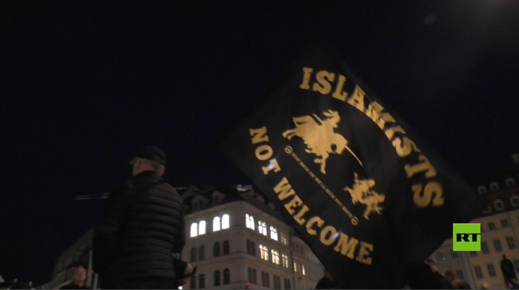 مظاهرة ضد أسلمة الغرب تُقابل بمظاهرة ضد الفاشية والنازية في ألمانيا