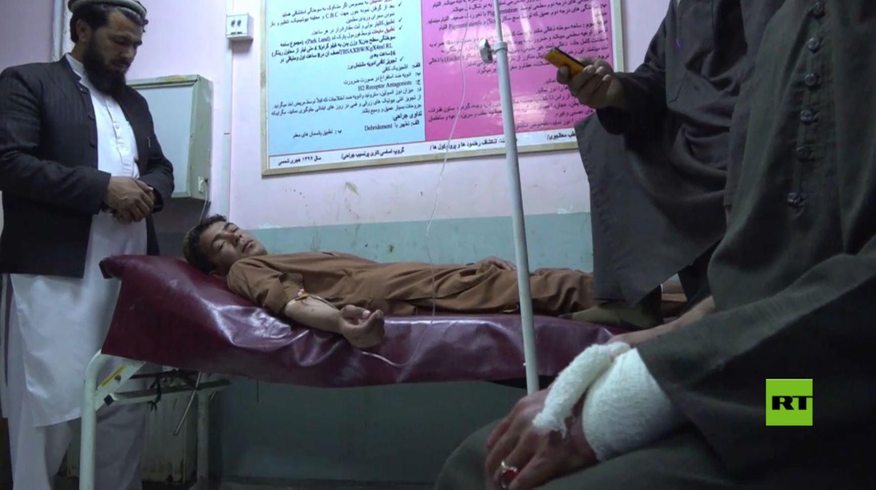 3 قتلى و 11 جريحا بوقوع انفجار خلال مباراة  كرة قدم في أفغانستان