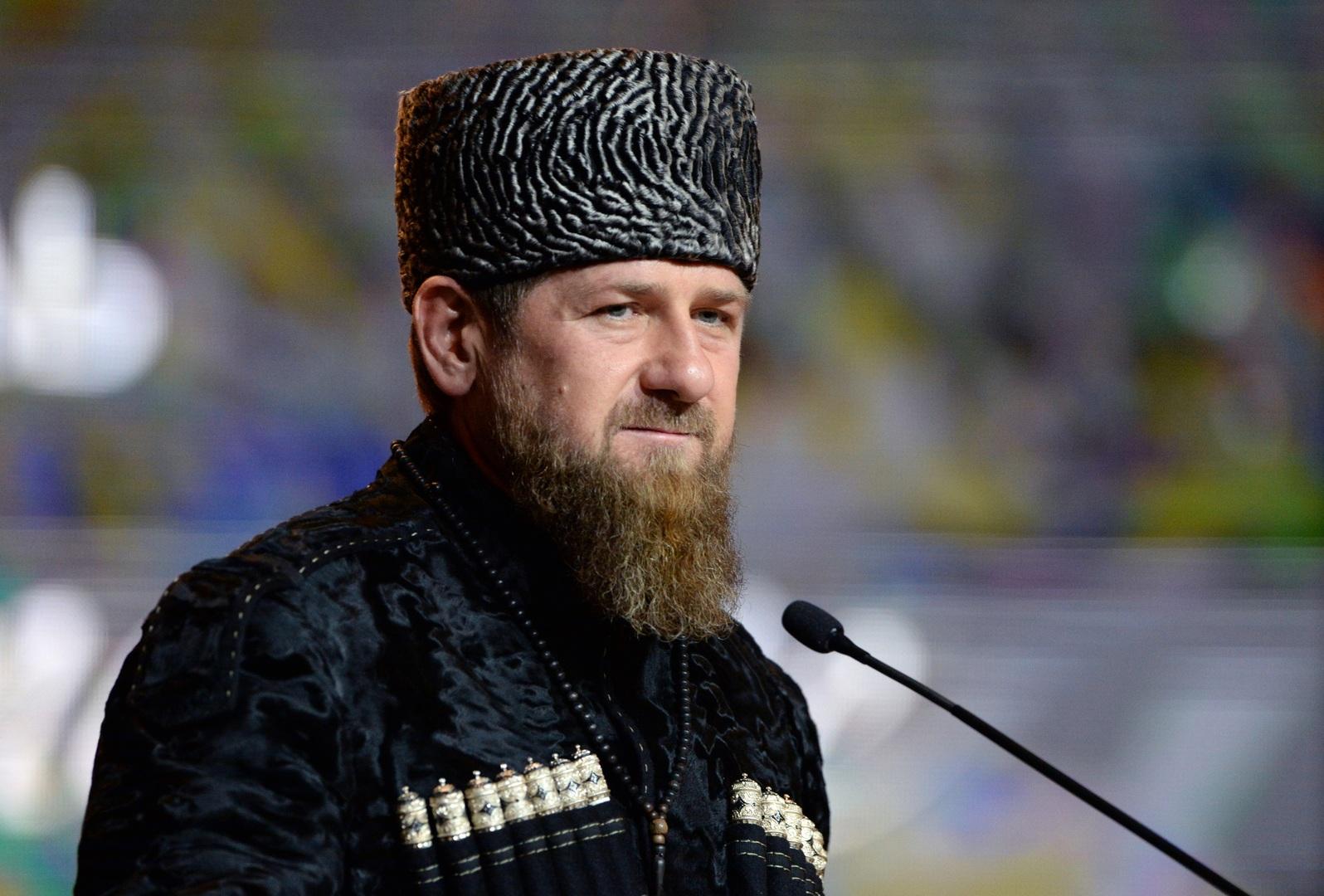 رئيس جمهورية الشيشان الروسية رمضان أحمد قديروف
