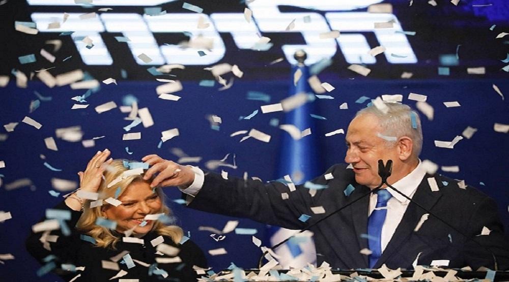نتنياهو يحتفل بـ