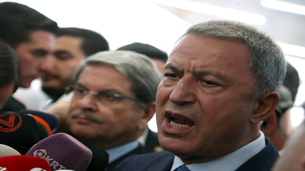 وزير الدفاع التركي خلوصي أكار - أرشيف