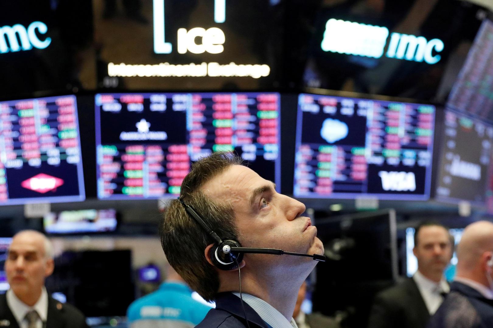 البورصة الأمريكية تهوي بعد إجراء للمركزي الأمريكي