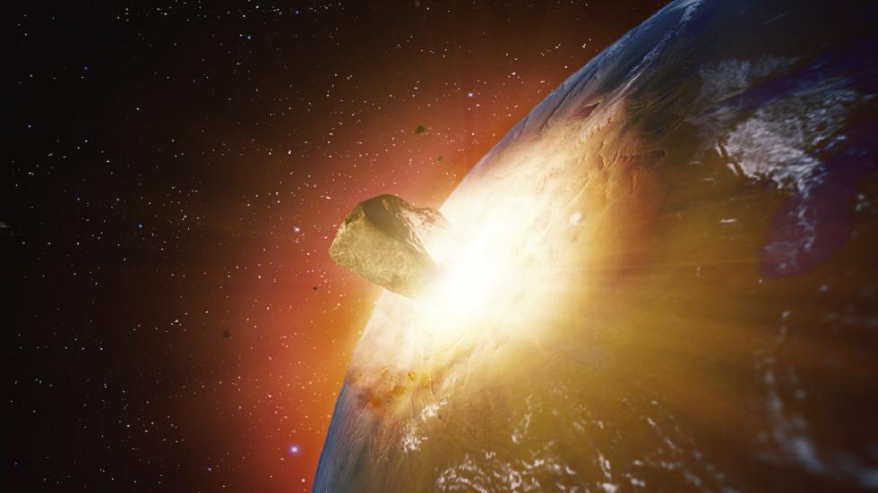 En asteroide er enorm nok