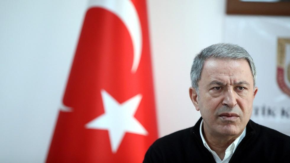 وزير الدفاع التركي يكشف هدف أنقرة من لقاء أردوغان مع بوتين